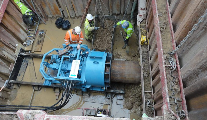 Cable Services In My Area >> Auger Boring Machines | Tunnel Engineering Services (UK) Ltd