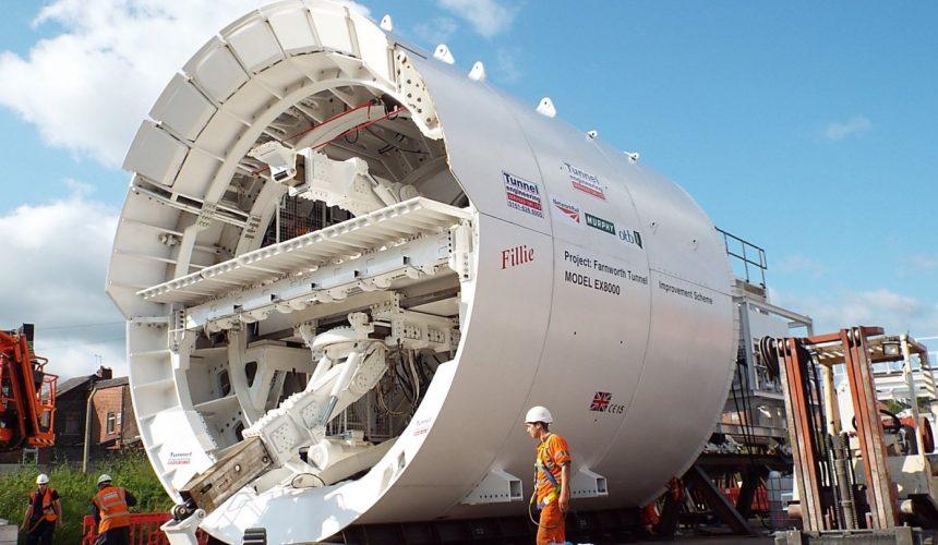 Mechanised Excavator Machines Image