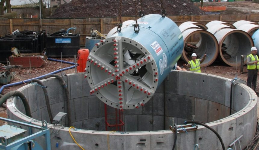 Tunnel Boring Machine - TBM1800 Open Face