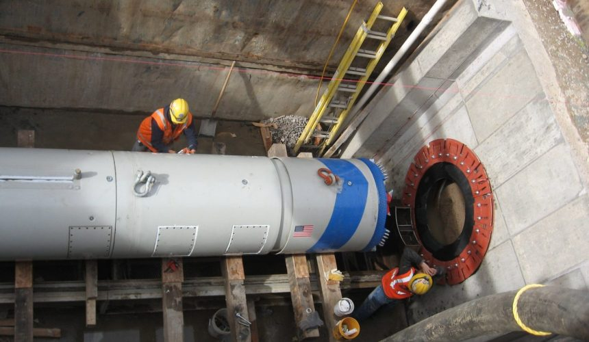 Microtunnelling Machines Image