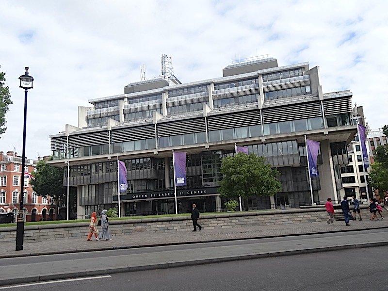 QEII centre in London